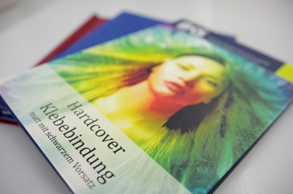 Booklets und Broschüren als gebundener Digitaldruck