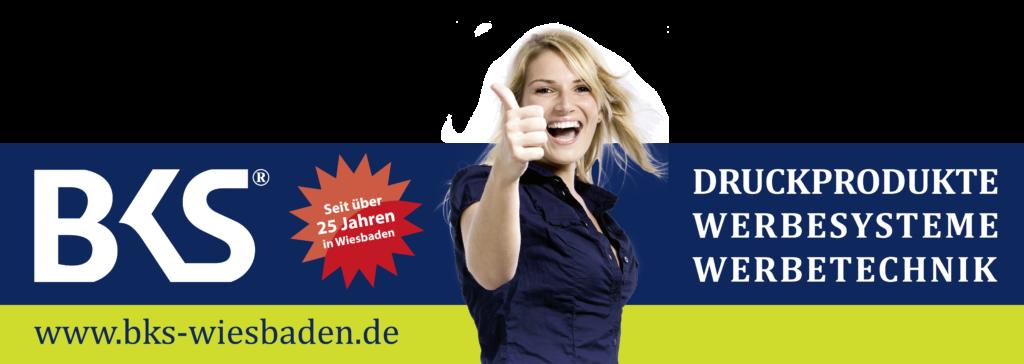 BKS Logo Girl auf BKS-Wiesbaden