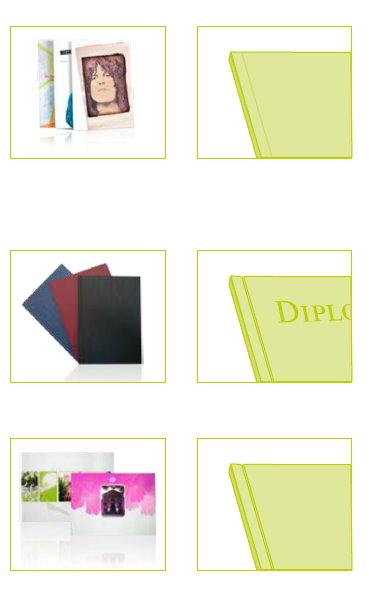 Bücher als gebundener Digitaldruck Ausführungen