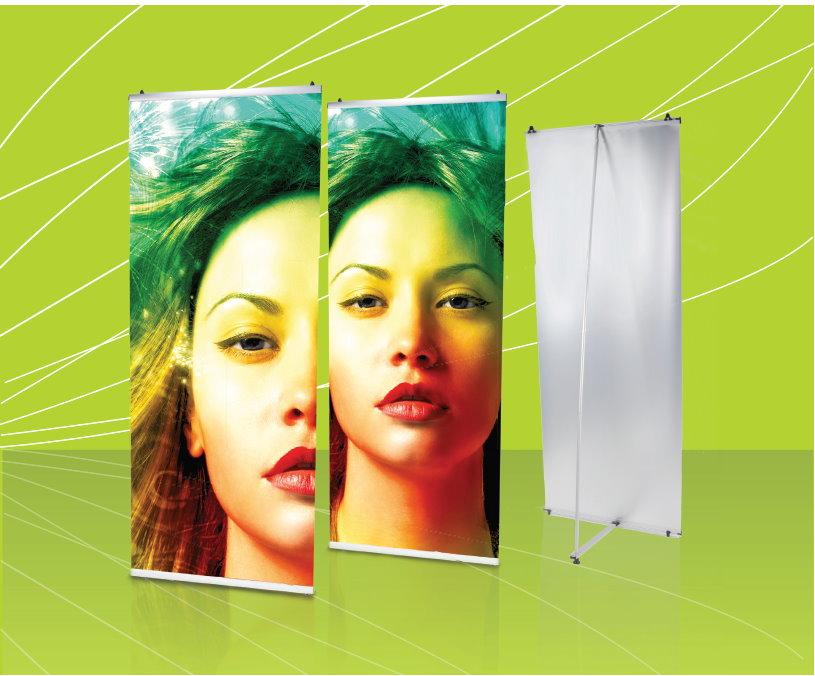 L-Banner als modernes und flexibles Werbesystem