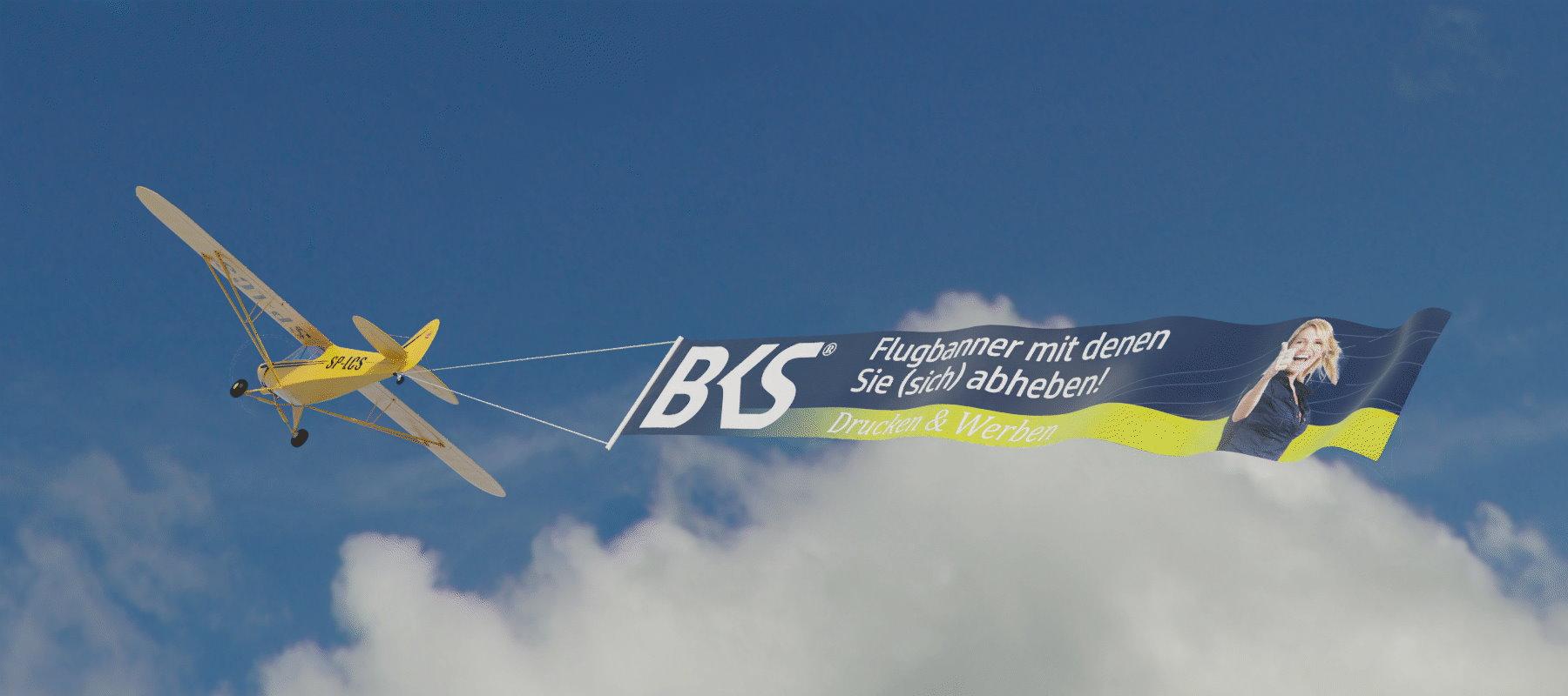 Flugbanner als Headergrafik! BKS-Wiesbaden