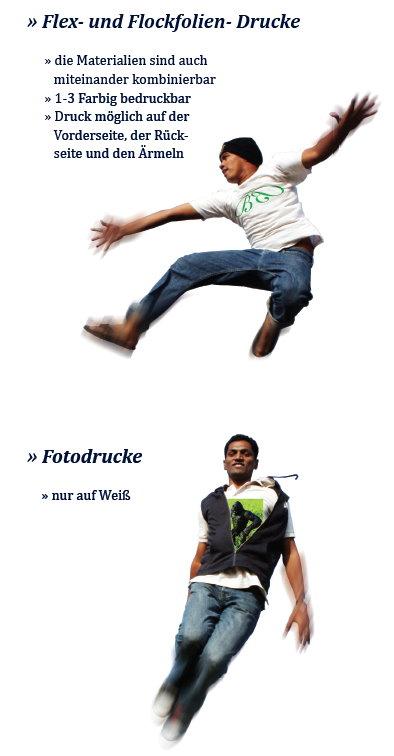 Tshirts Beispiel! Wir drucken - sie werben! BKS-Wiesbaden